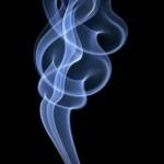 Дым в виде костра