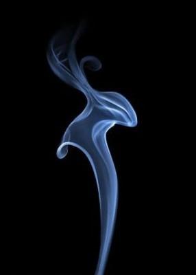 Дым в виде не понятно чего... Но красиво...