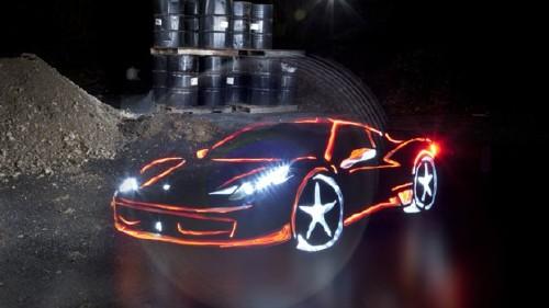 Машина из света